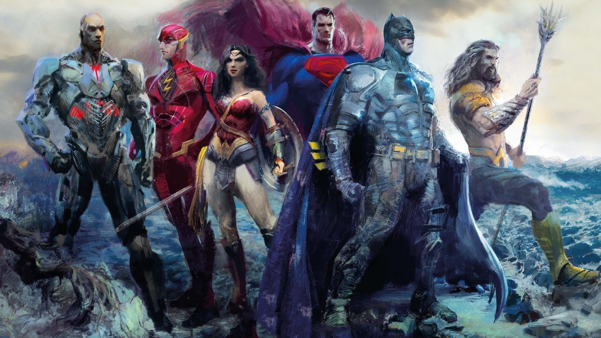 Justice League windows wallpaper