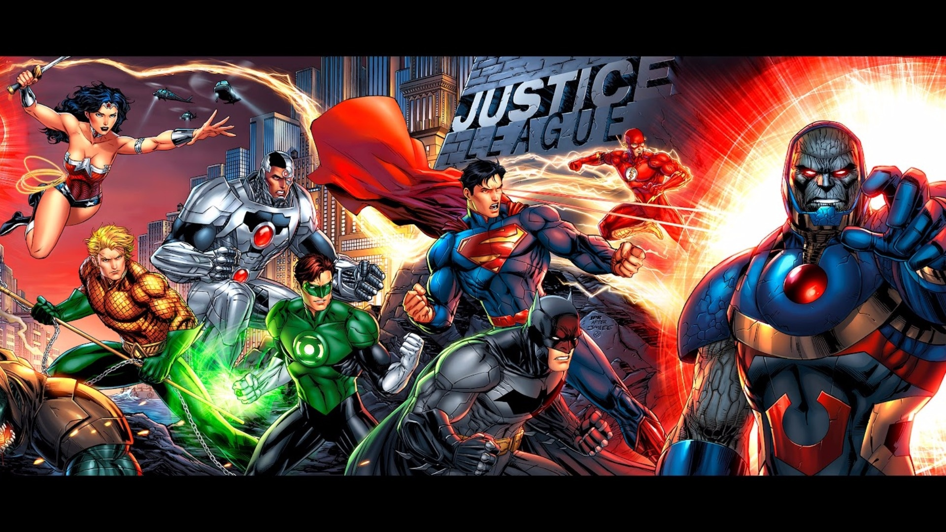 Justice League hd background