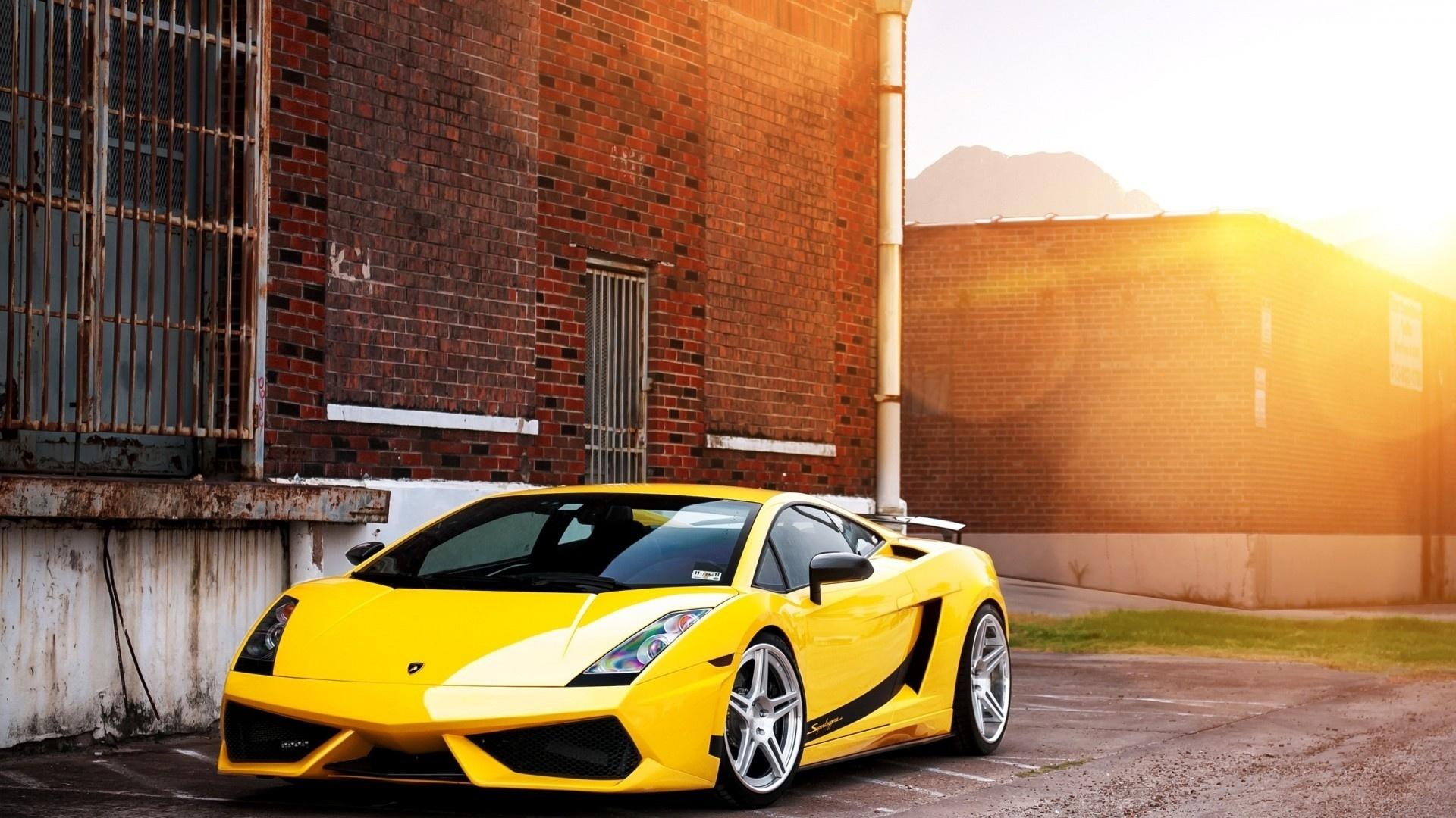 Lamborghini computer background