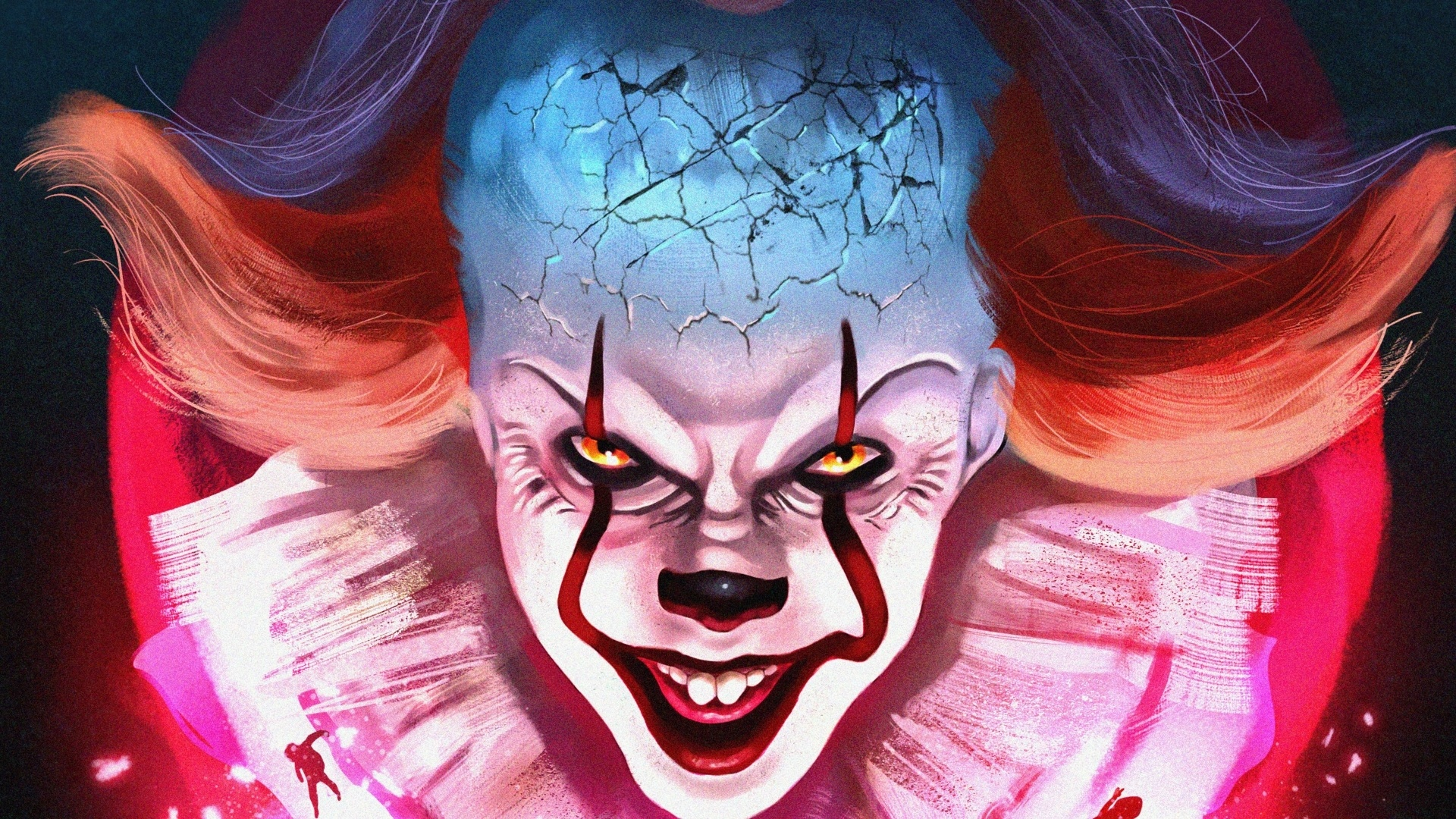 Pennywise background wallpaper