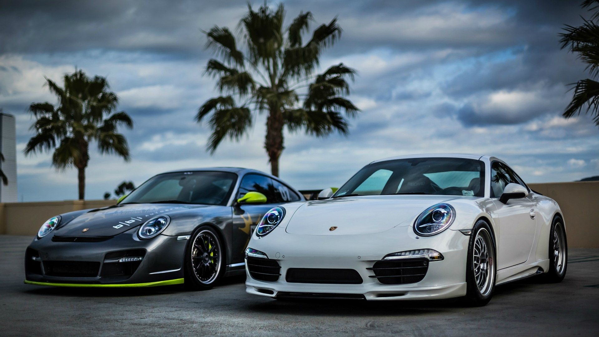 Porsche windows background