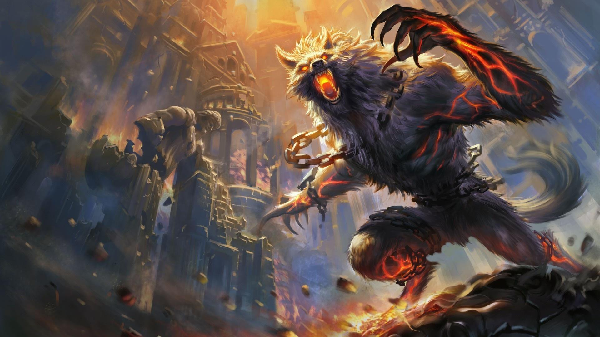 Werewolf desktop wallpaper free download
