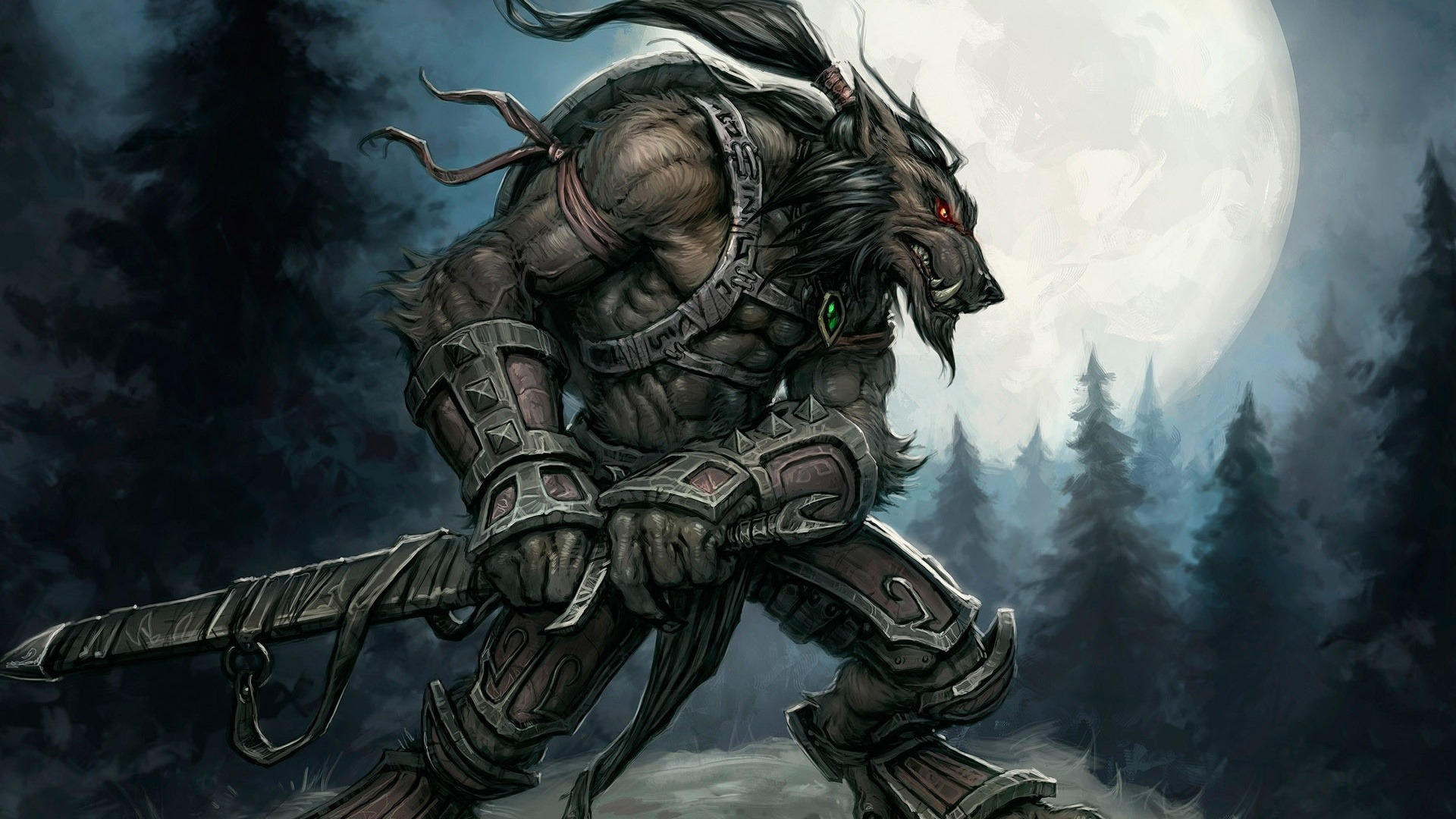 Werewolf 1080p wallpaper