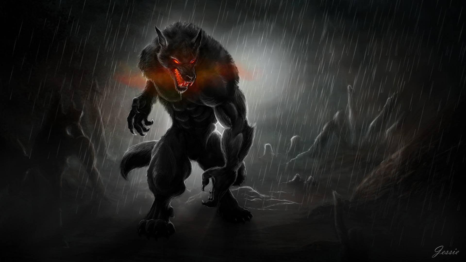 Werewolf hd background