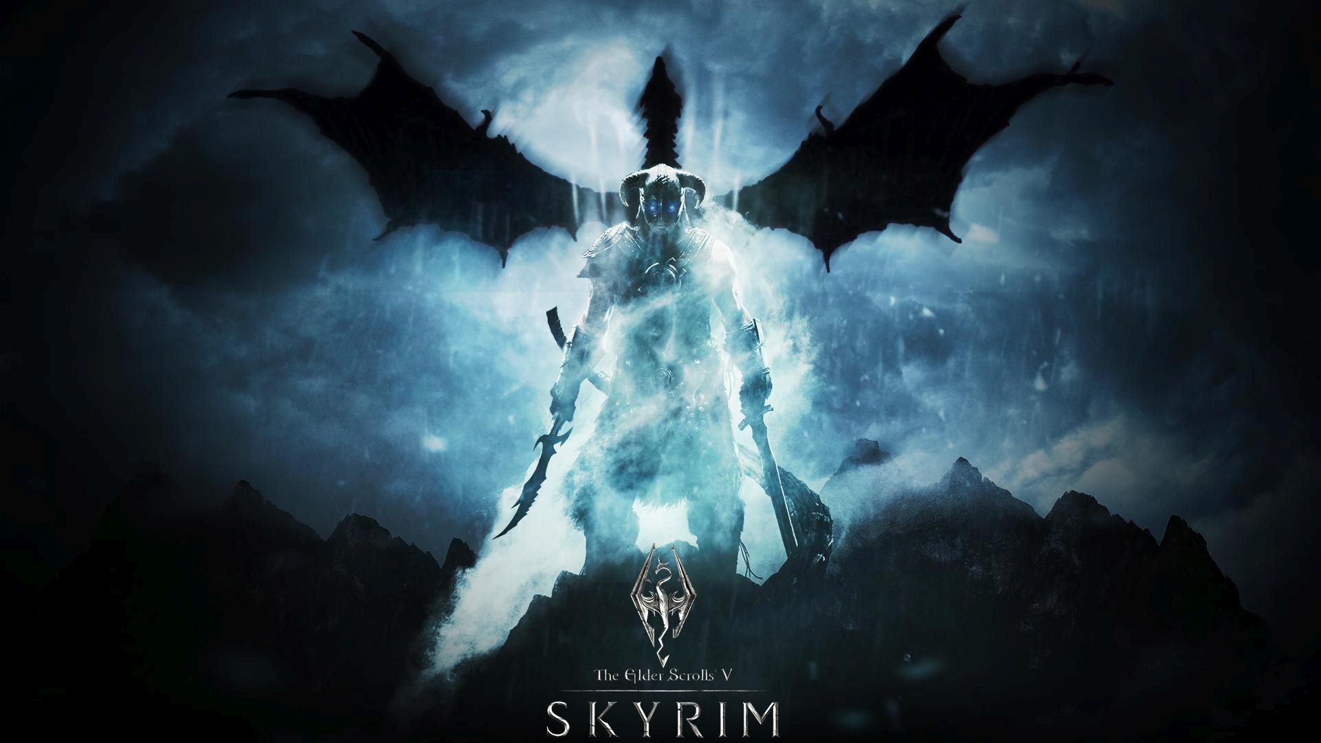 Skyrim desktop background