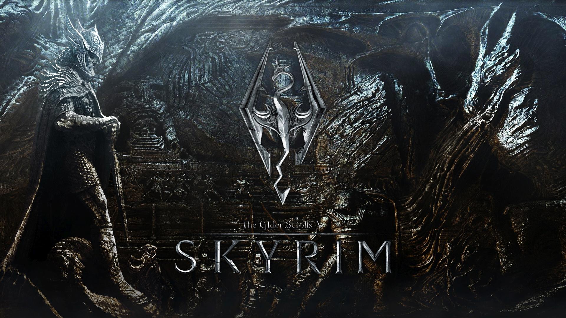 Skyrim best background