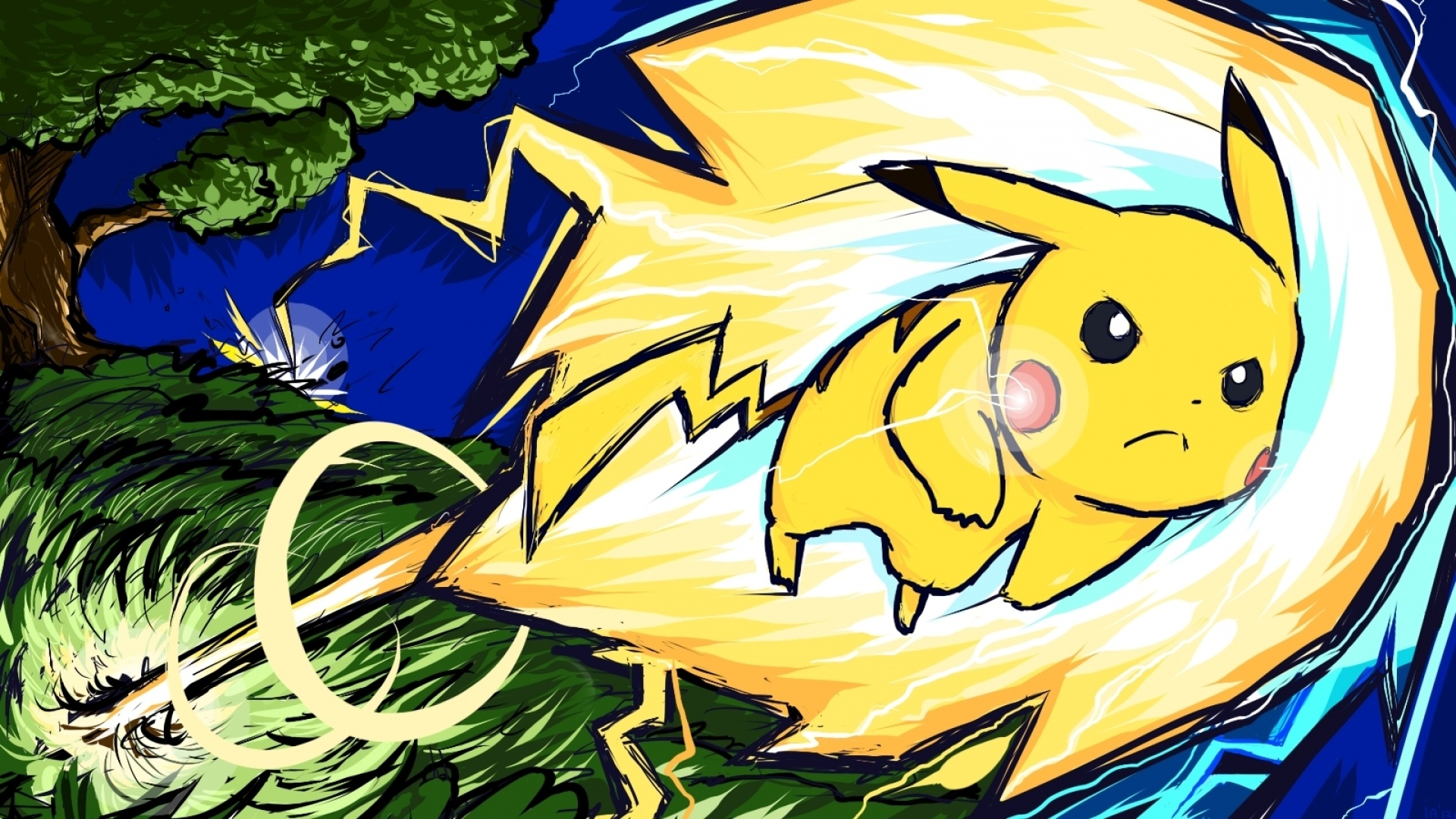 Pikachu background picture
