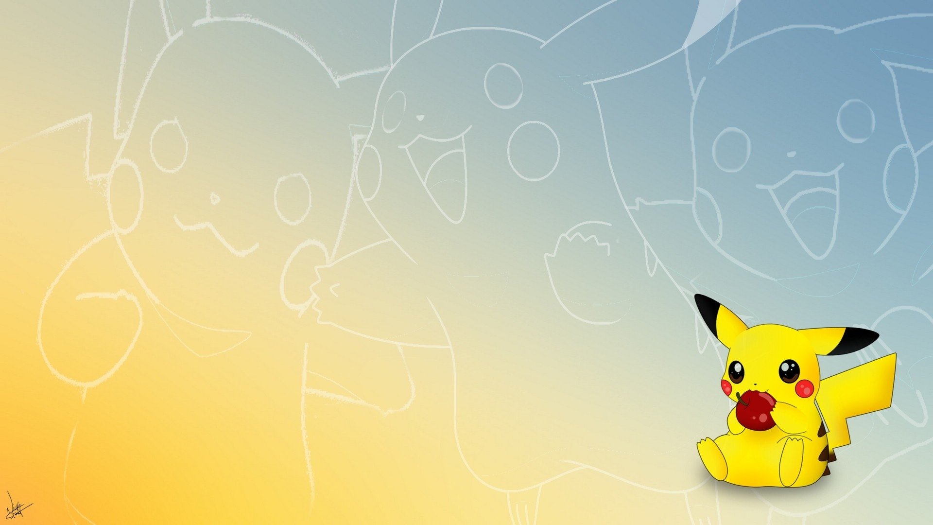 Pikachu 1080p wallpaper