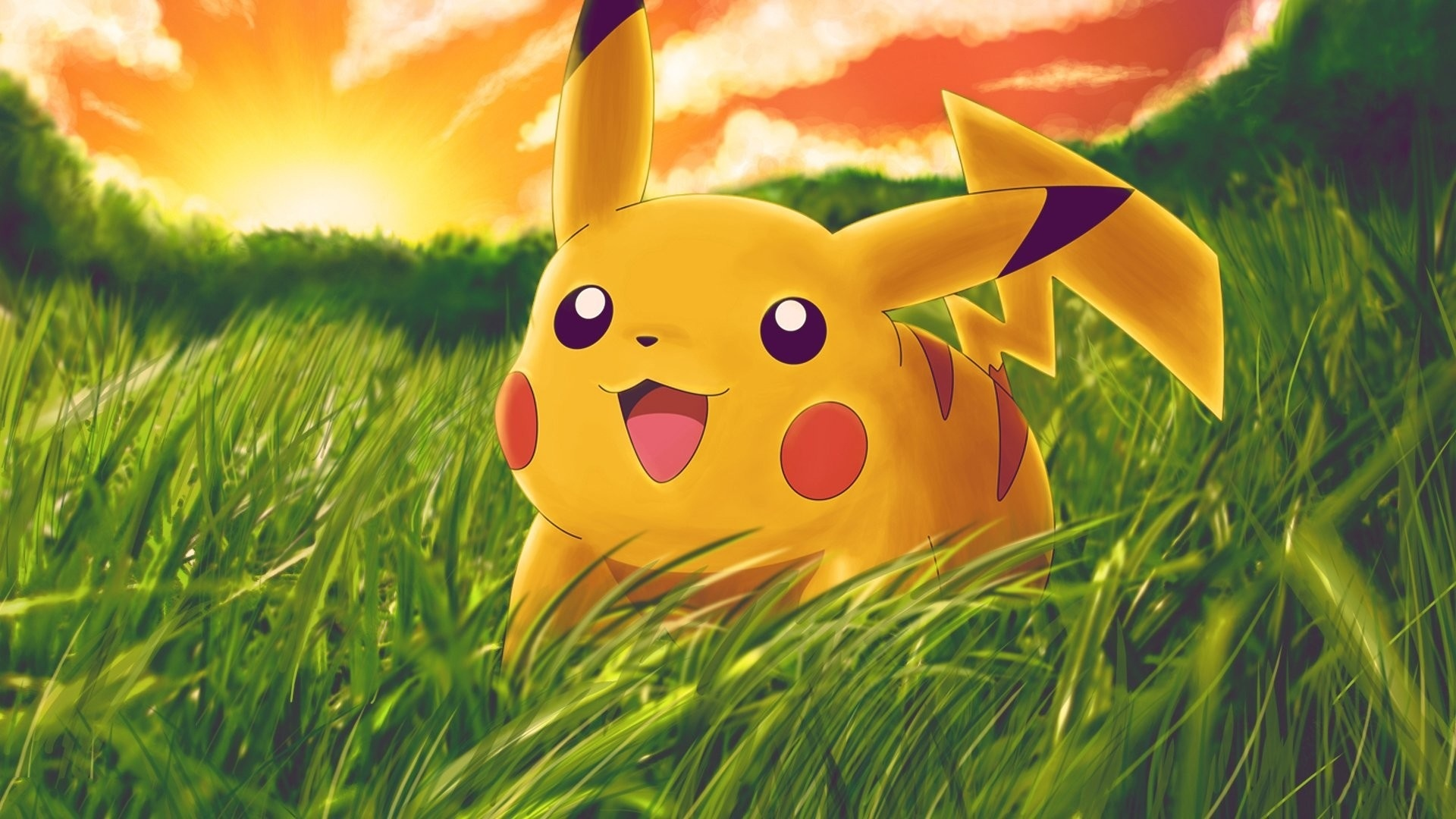 Pikachu desktop wallpaper free download