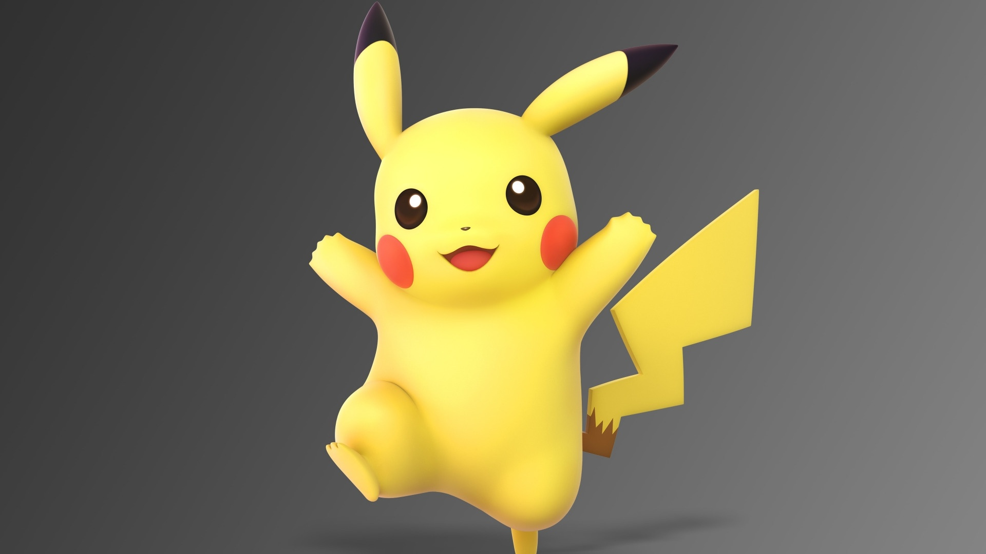 Pikachu desktop background