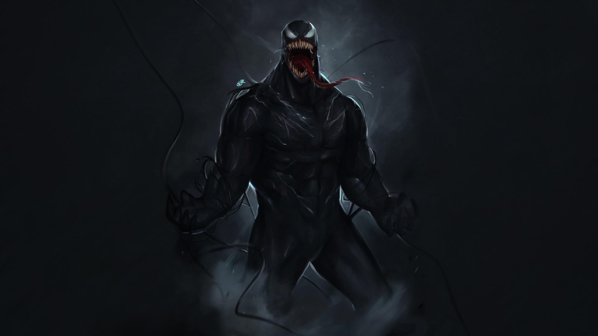 Venom computer wallpaper