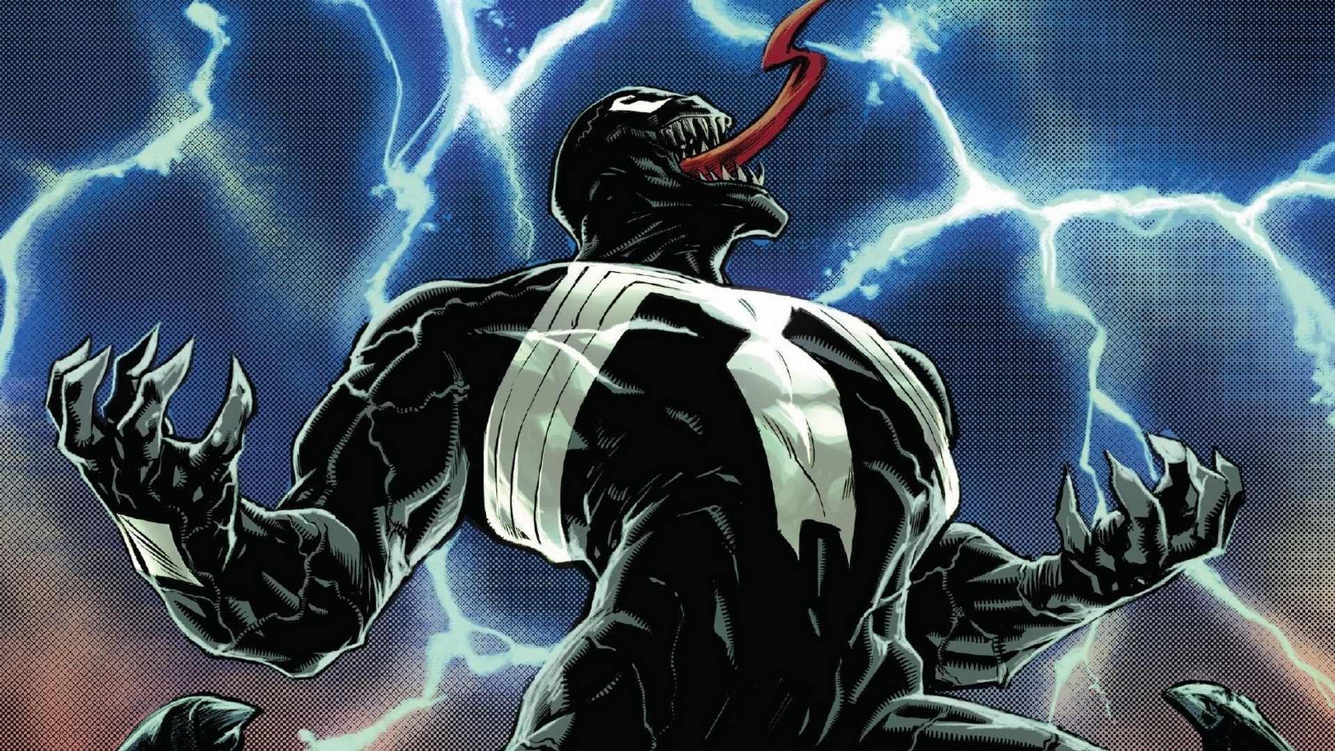 Venom background wallpaper