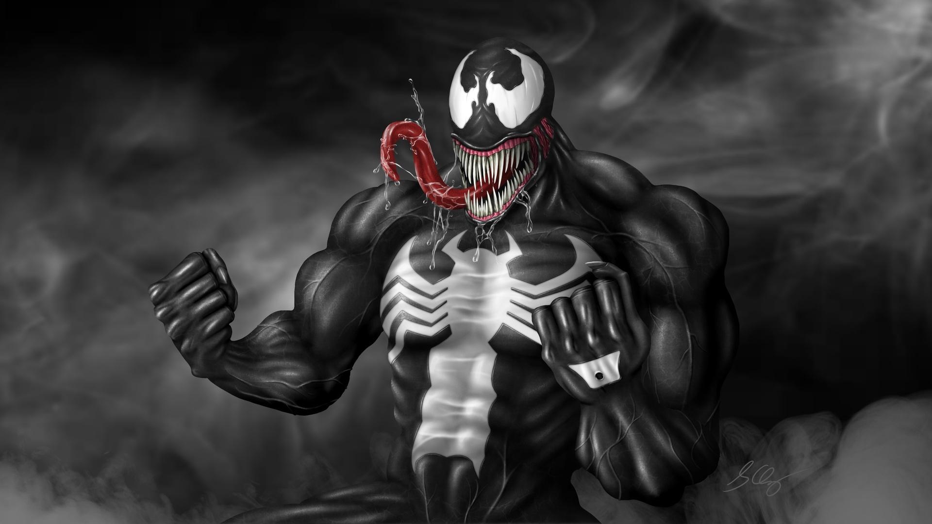 Venom computer background
