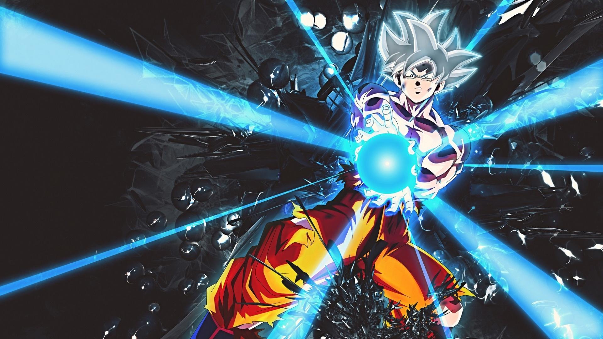 Goku Ultra Instinct free wallpaper