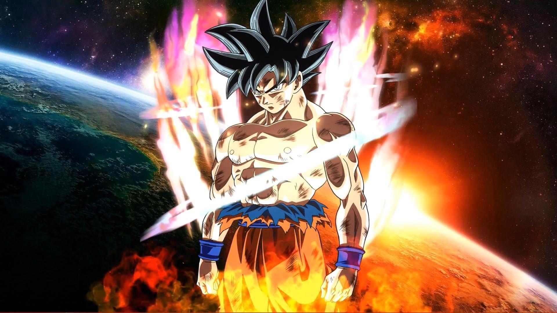 Goku Ultra Instinct windows background