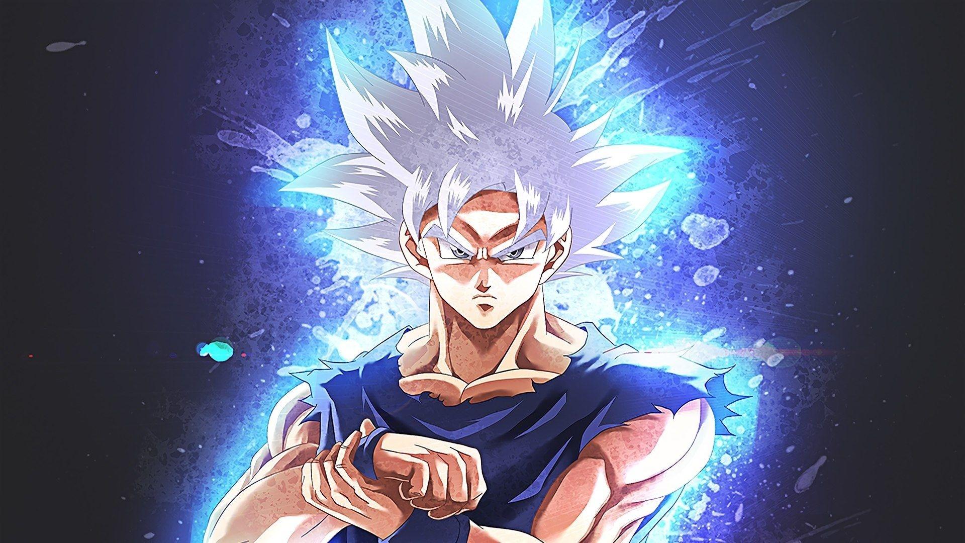 Goku Ultra Instinct cool background