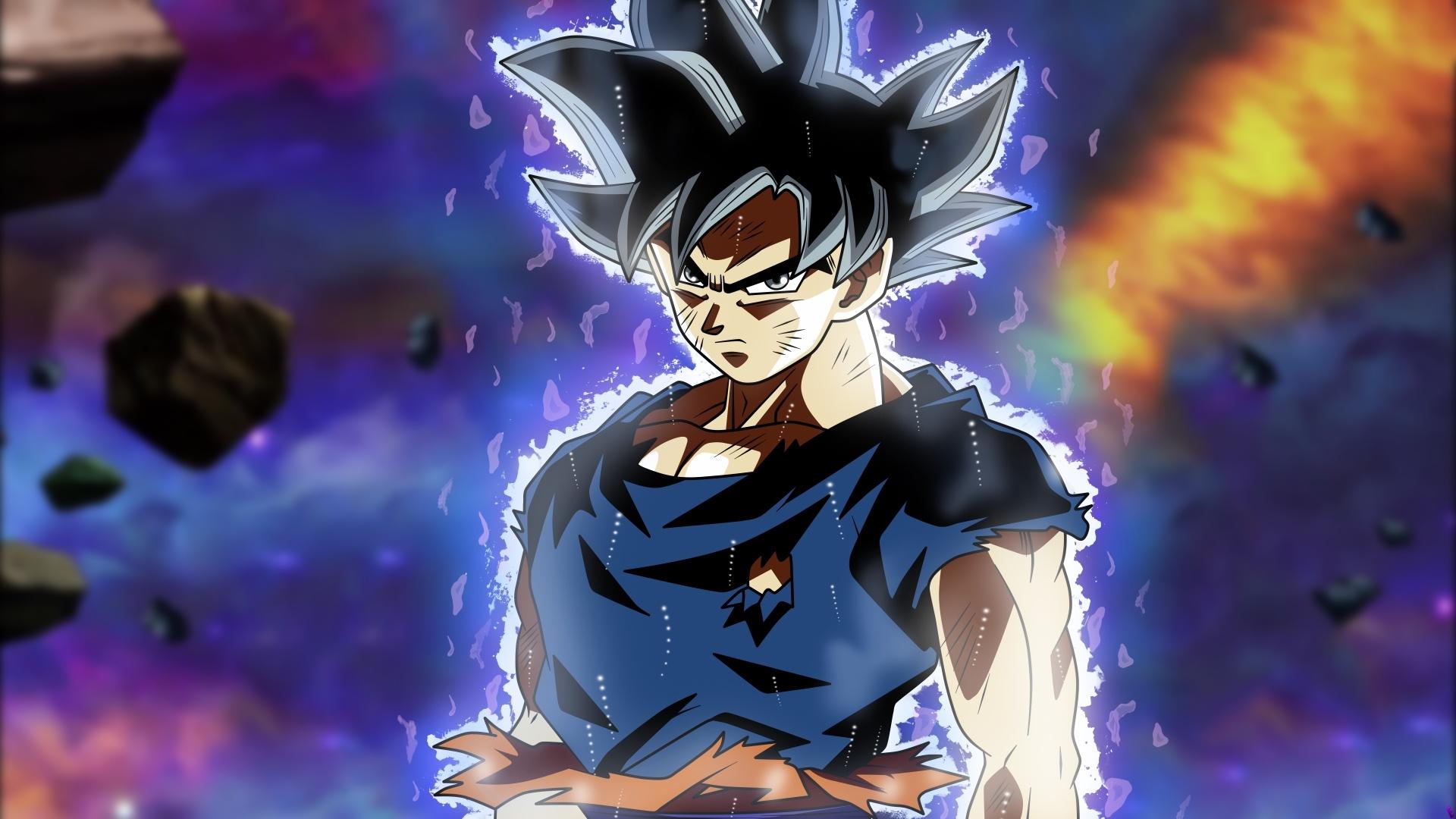 Goku Ultra Instinct pc wallpaper