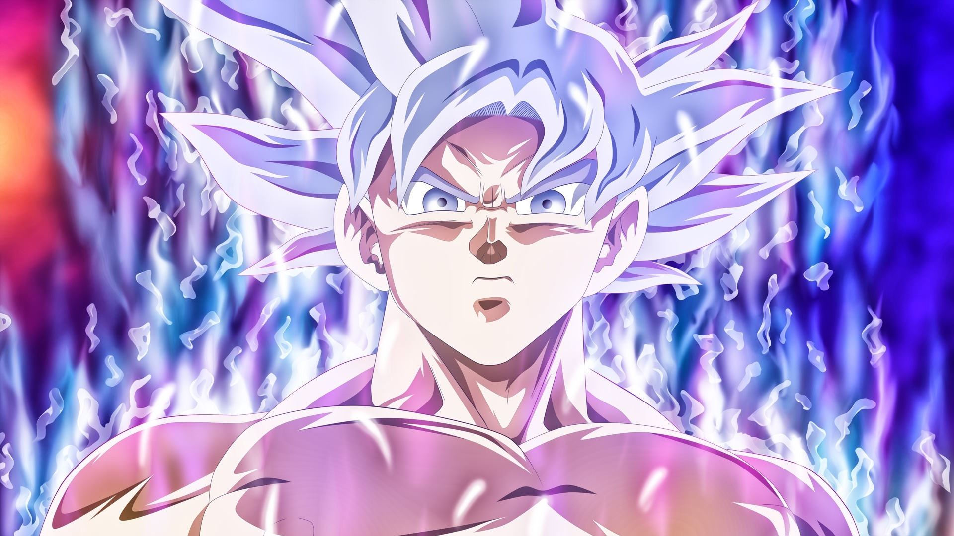 Goku Ultra Instinct hd background
