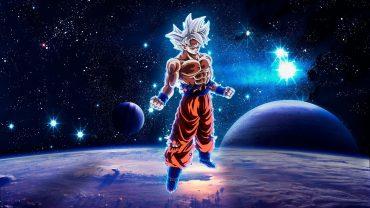 Goku Ultra Instinct desktop wallpaper