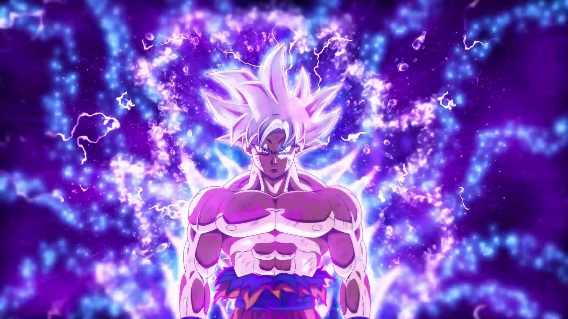 Goku Ultra Instinct desktop wallpaper free download