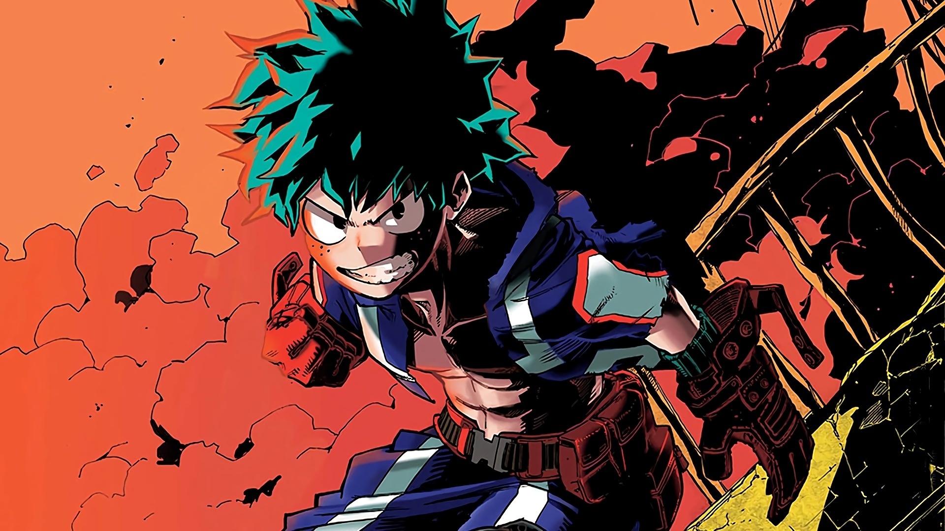 Izuku Midoriya Boku No Hero Academia Wallpaper #30193 desktop wallpaper