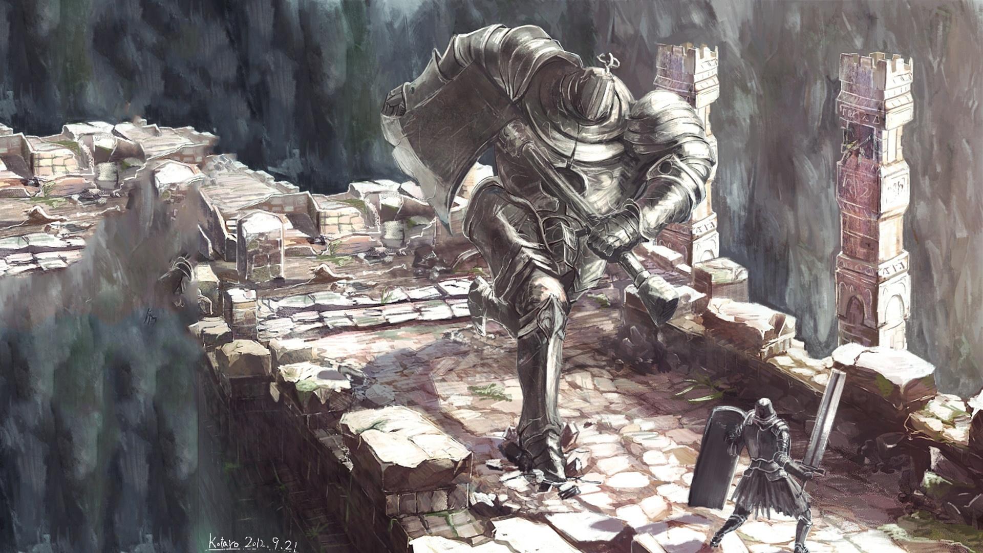Dark Souls pc wallpaper