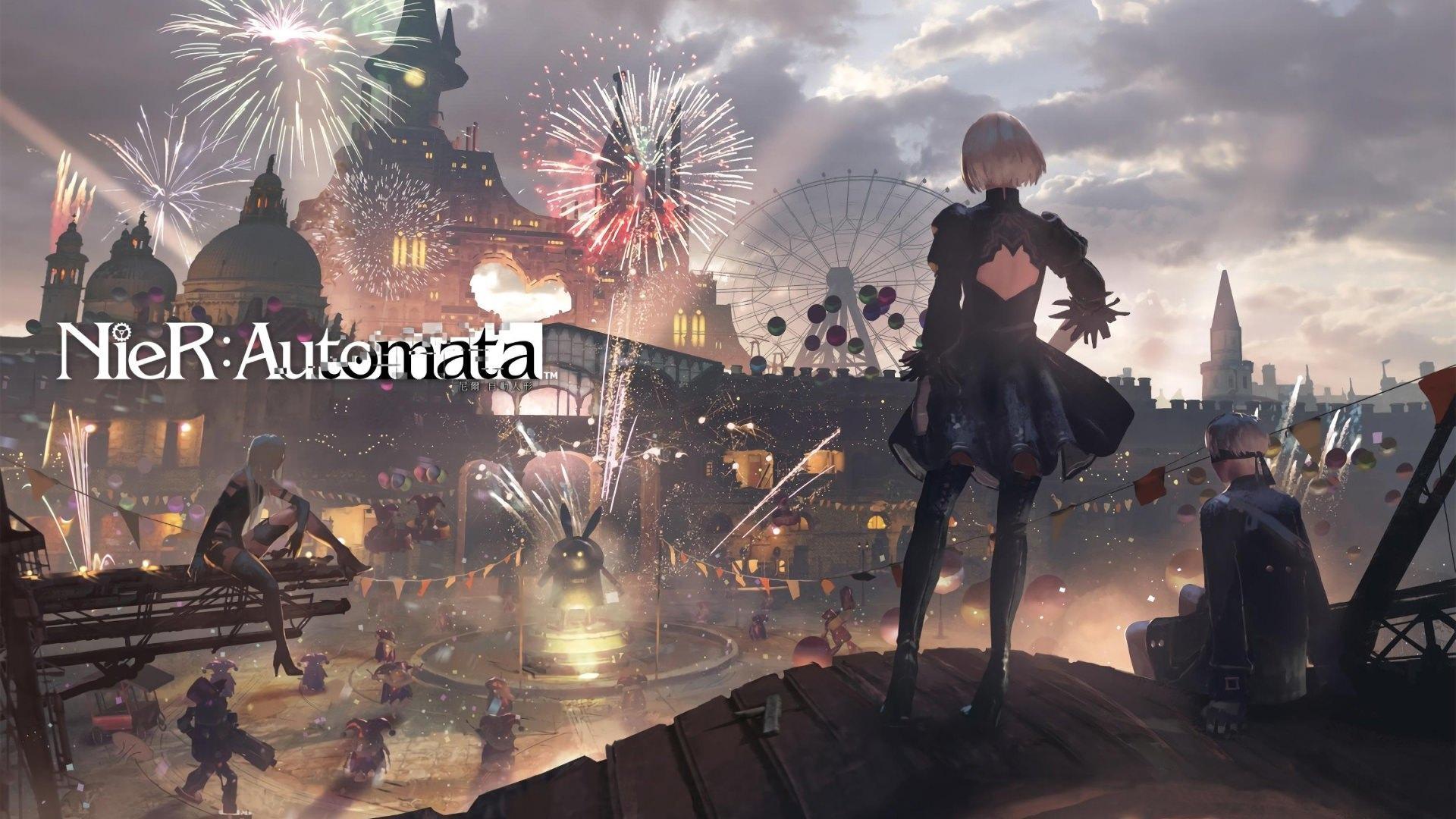 Nier Automata best background