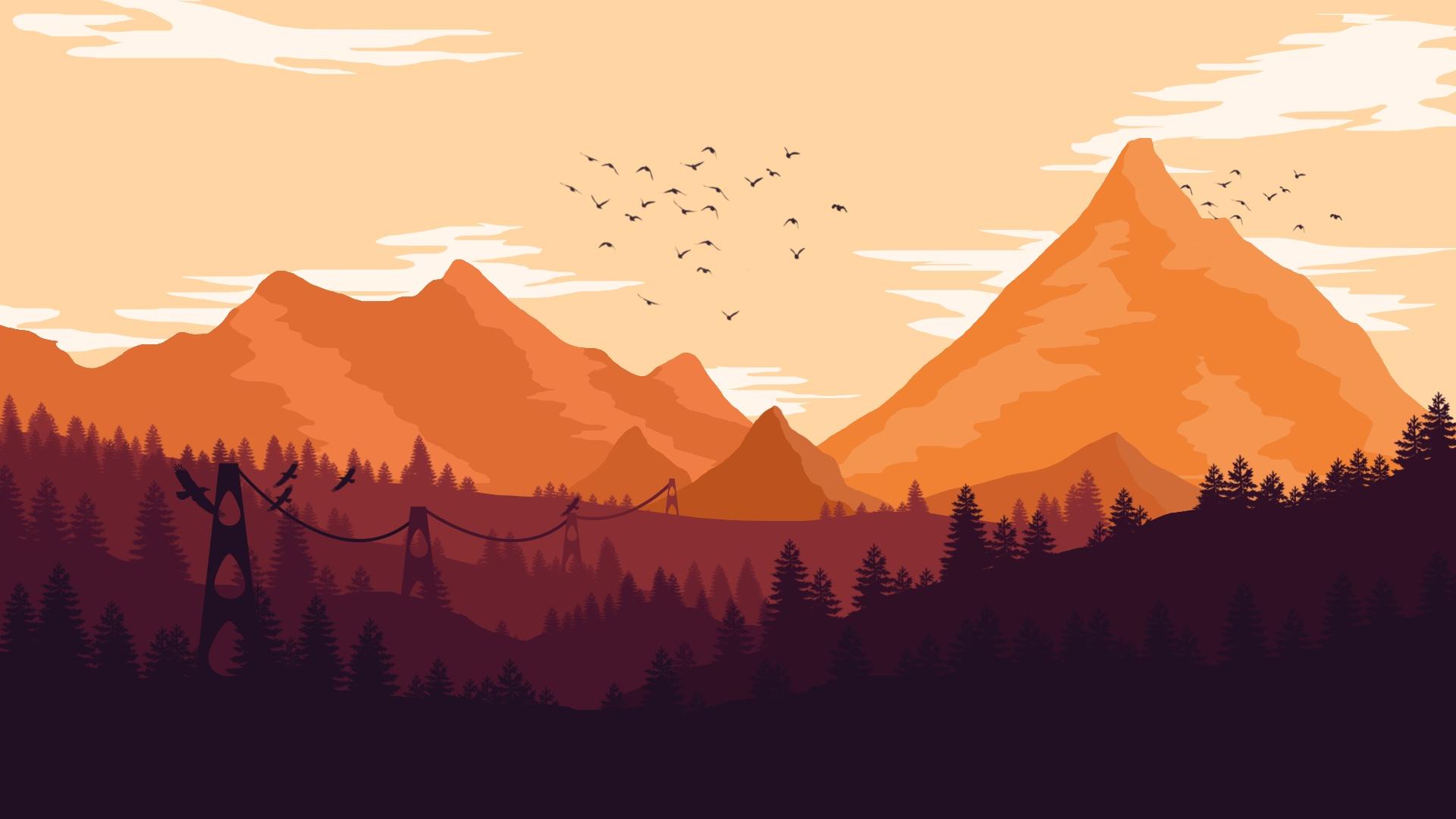 Firewatch free background