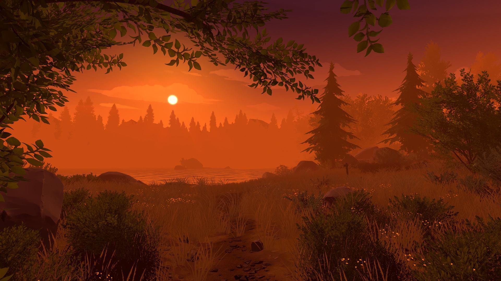Firewatch desktop background
