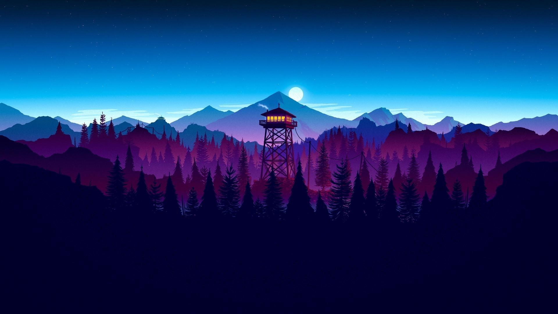 Firewatch computer background