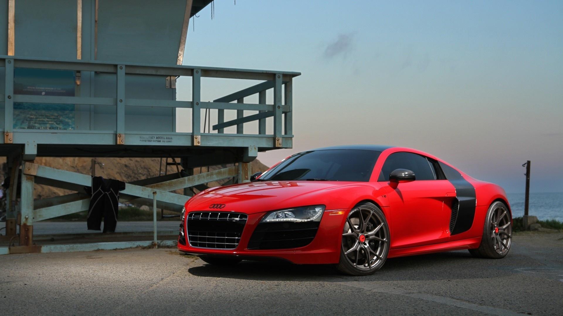 Audi R8 free picture