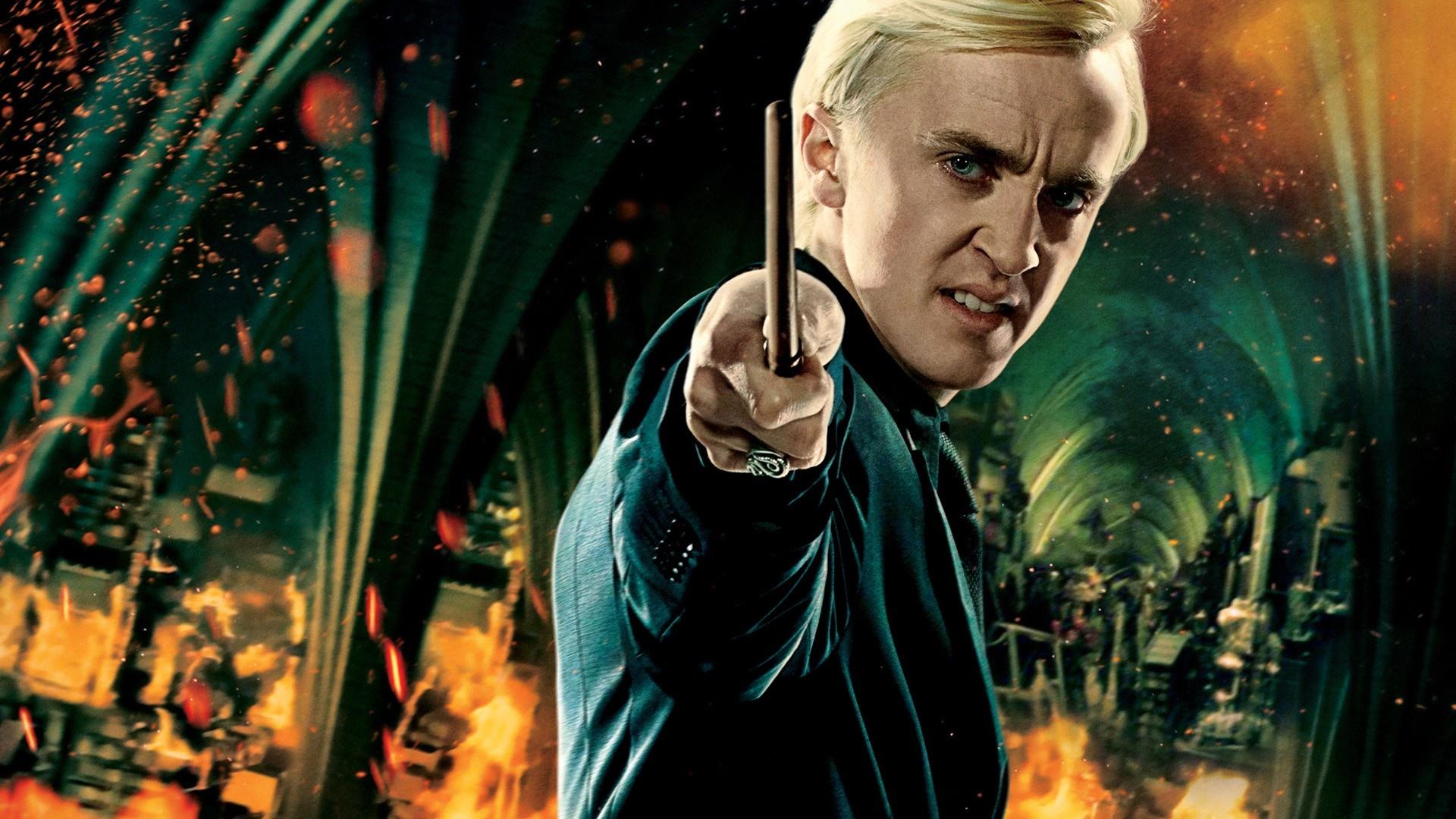 Draco Malfoy hd background
