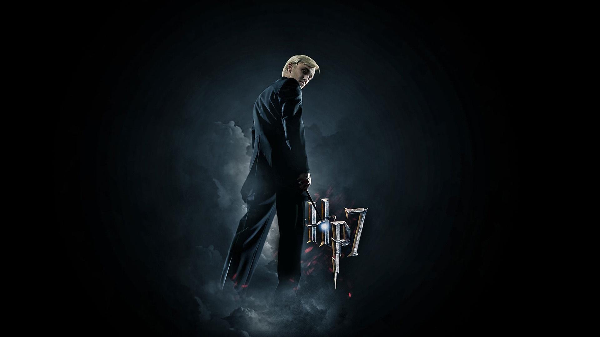 Draco Malfoy computer background