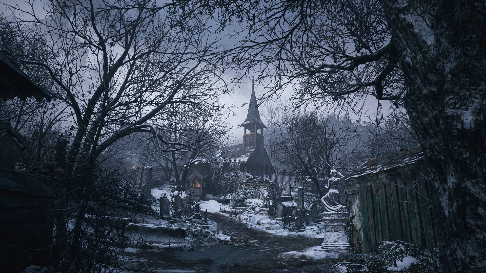 Resident Evil Village cool wallpaper