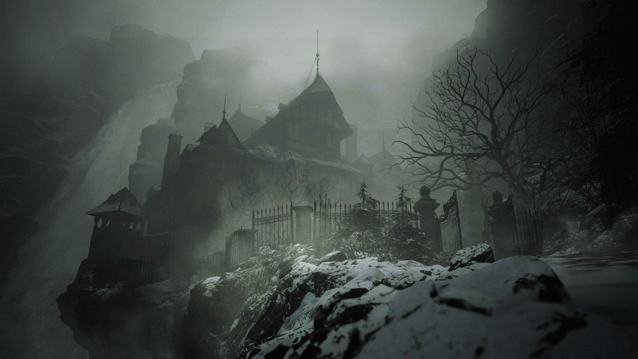 Resident Evil Village windows background