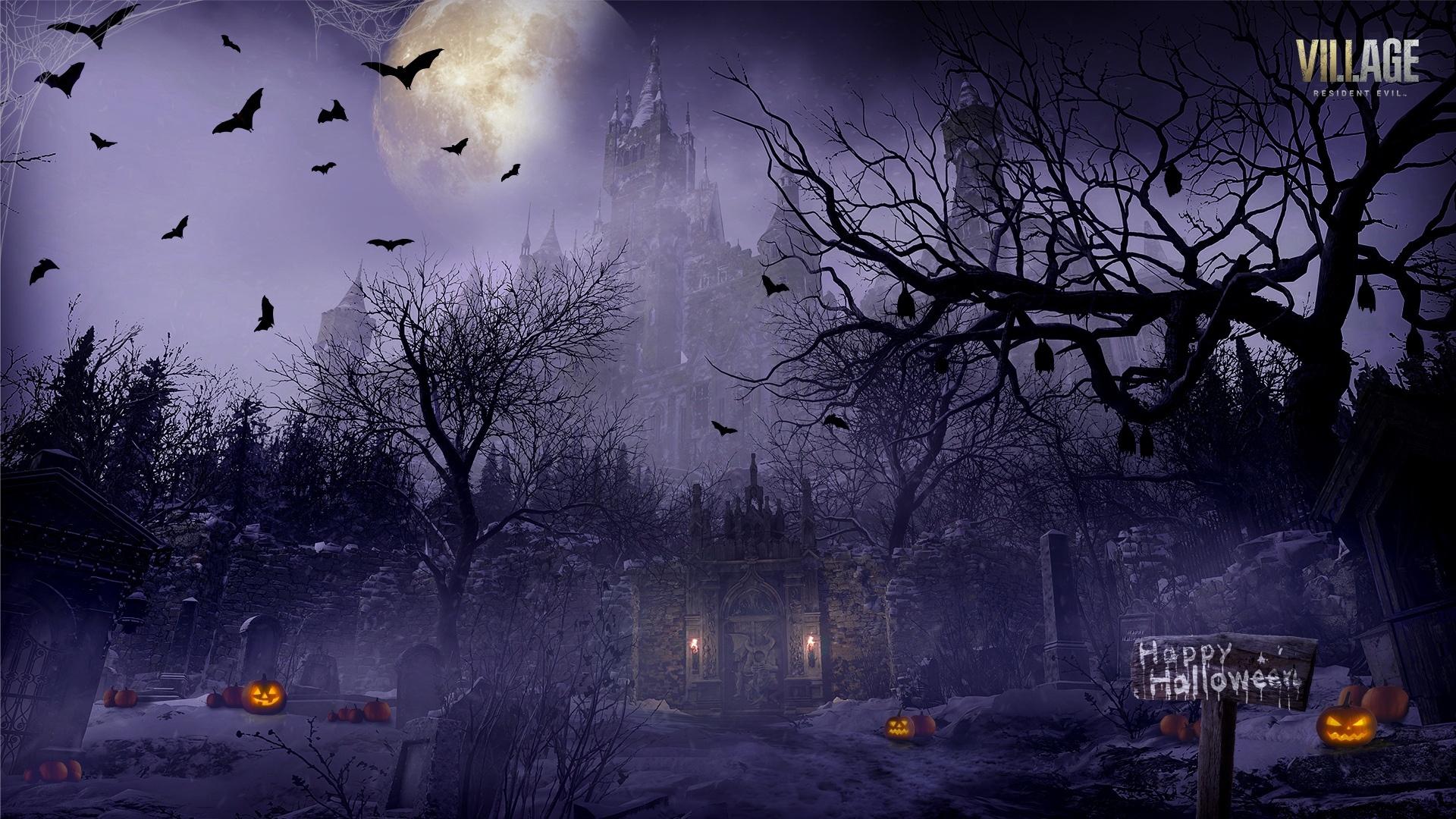 Resident Evil Village desktop wallpaper