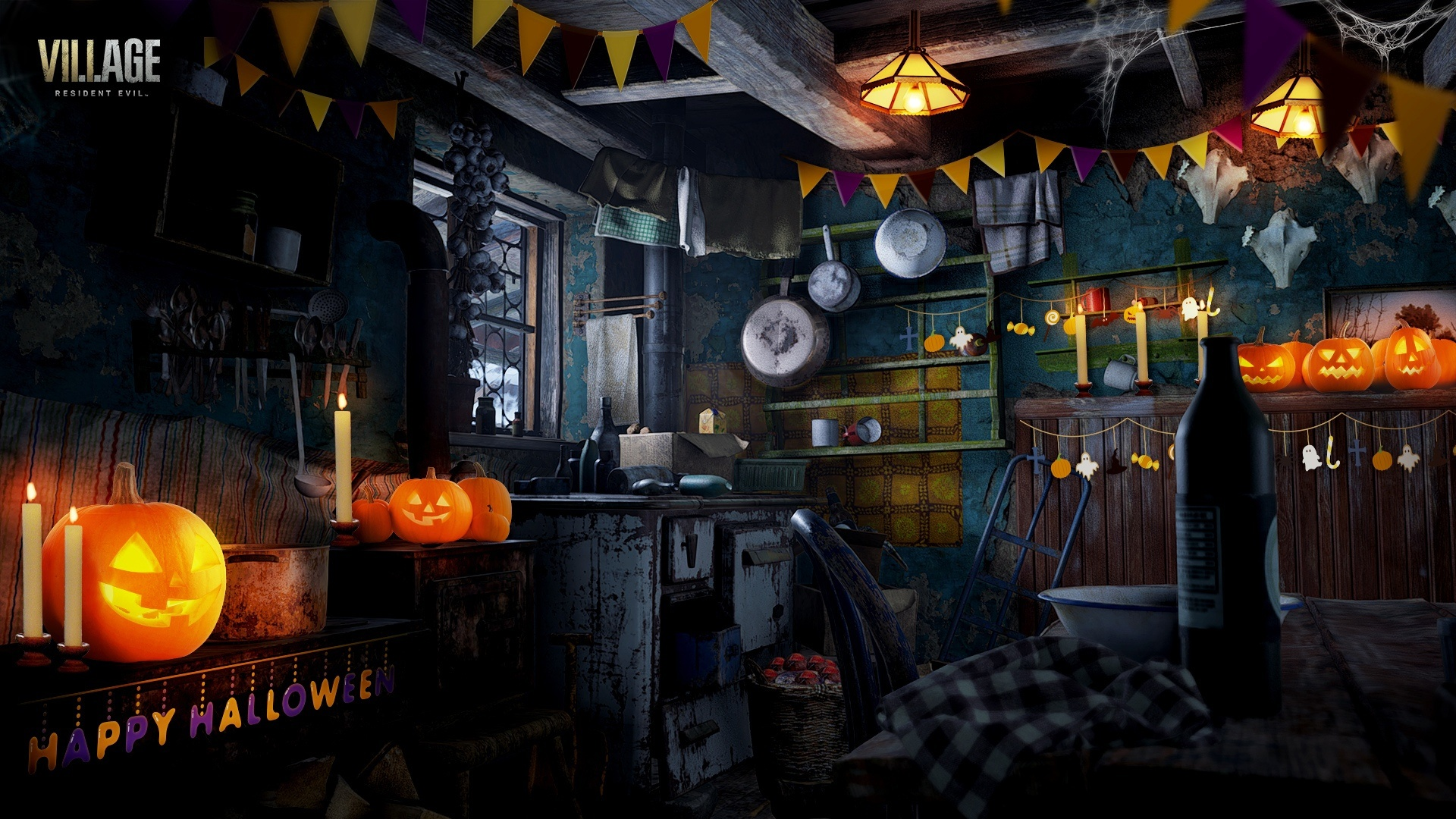 Resident Evil Village 1080p wallpaper