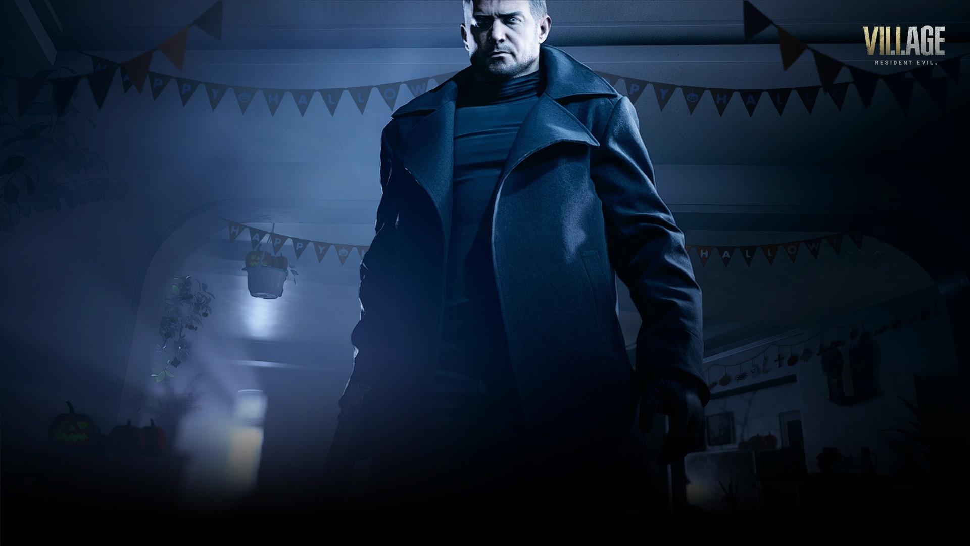 Resident Evil Village background picture
