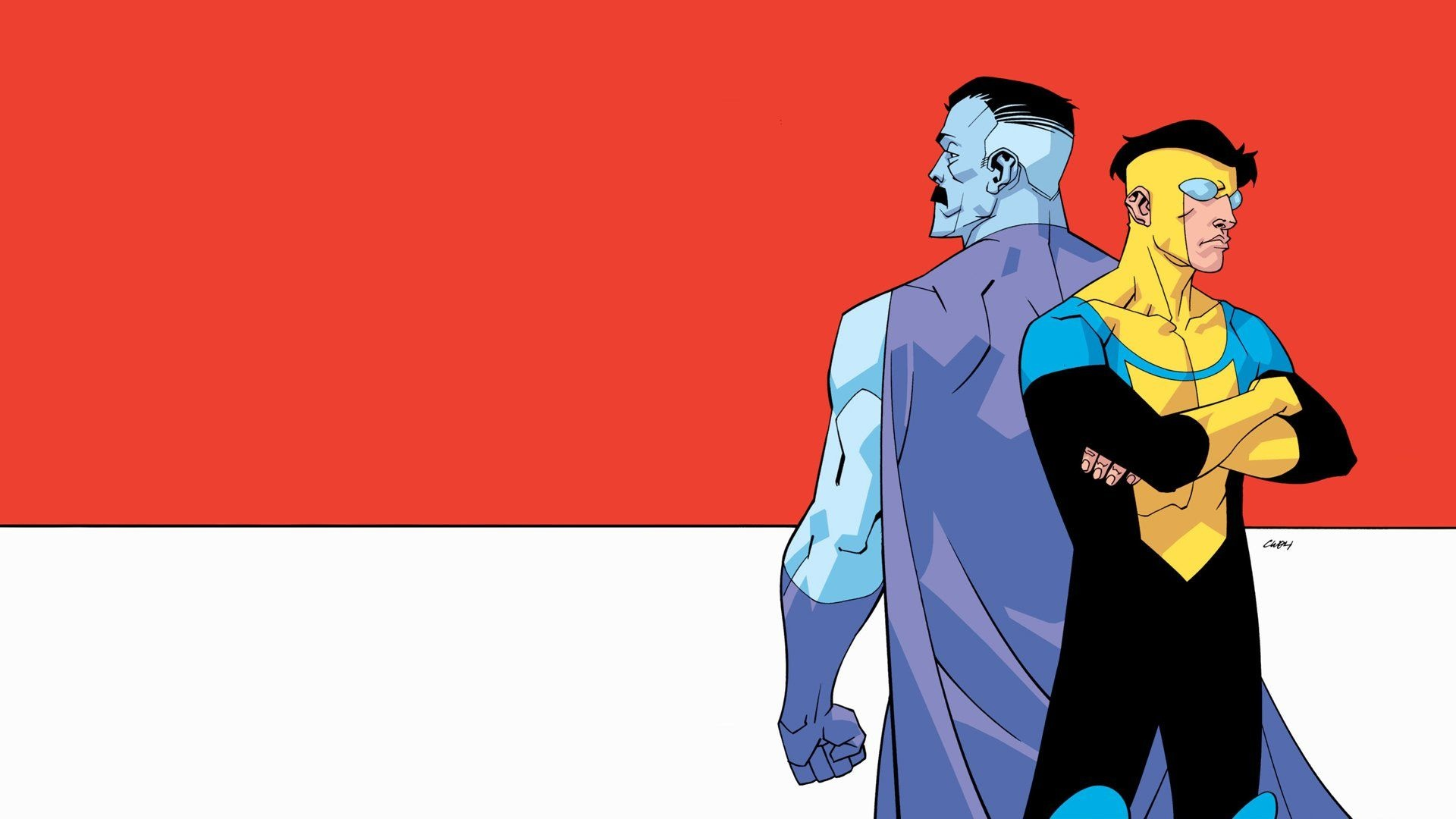 Invincible cool background