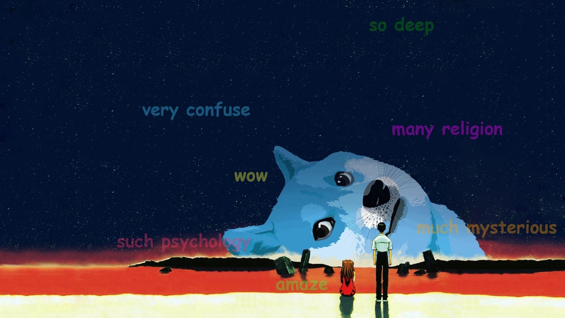 Doge Meme cool background