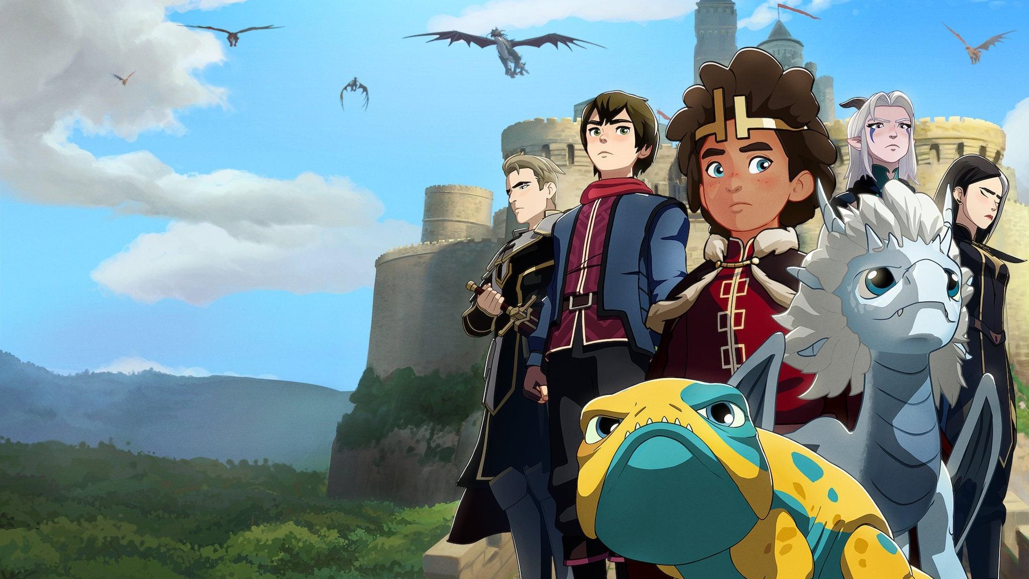 The Dragon Prince desktop wallpaper free download