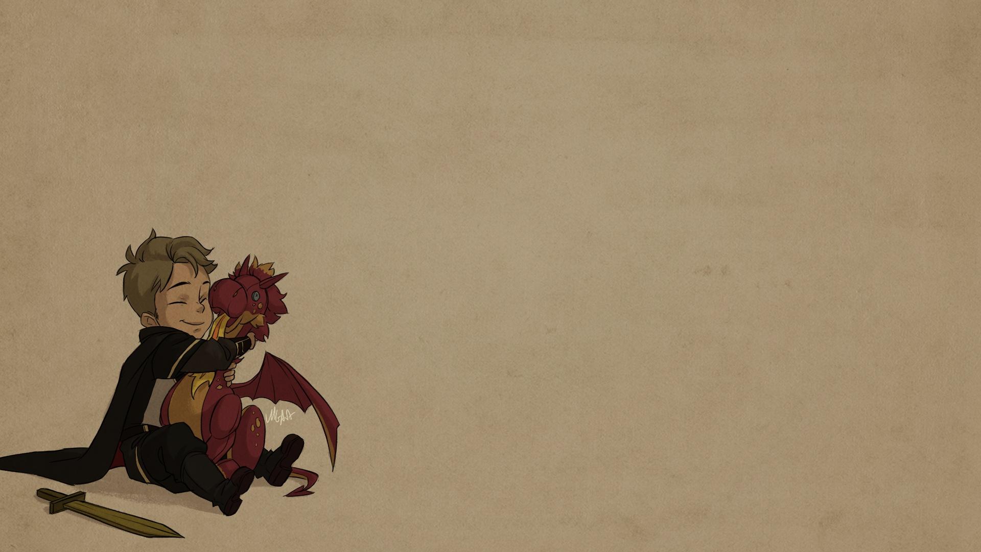 The Dragon Prince windows wallpaper