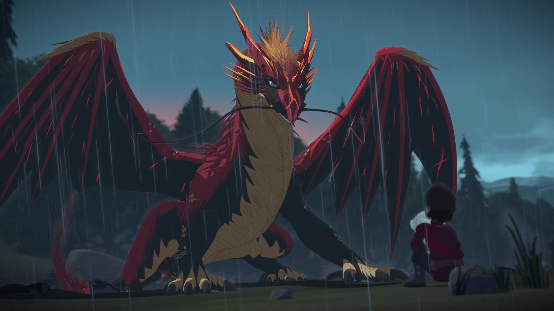 The Dragon Prince desktop background