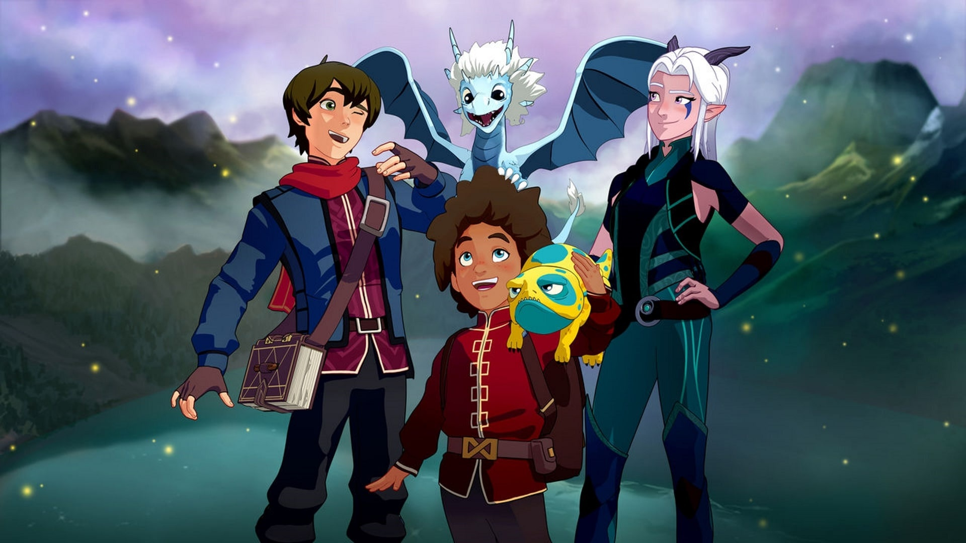 The Dragon Prince cool background