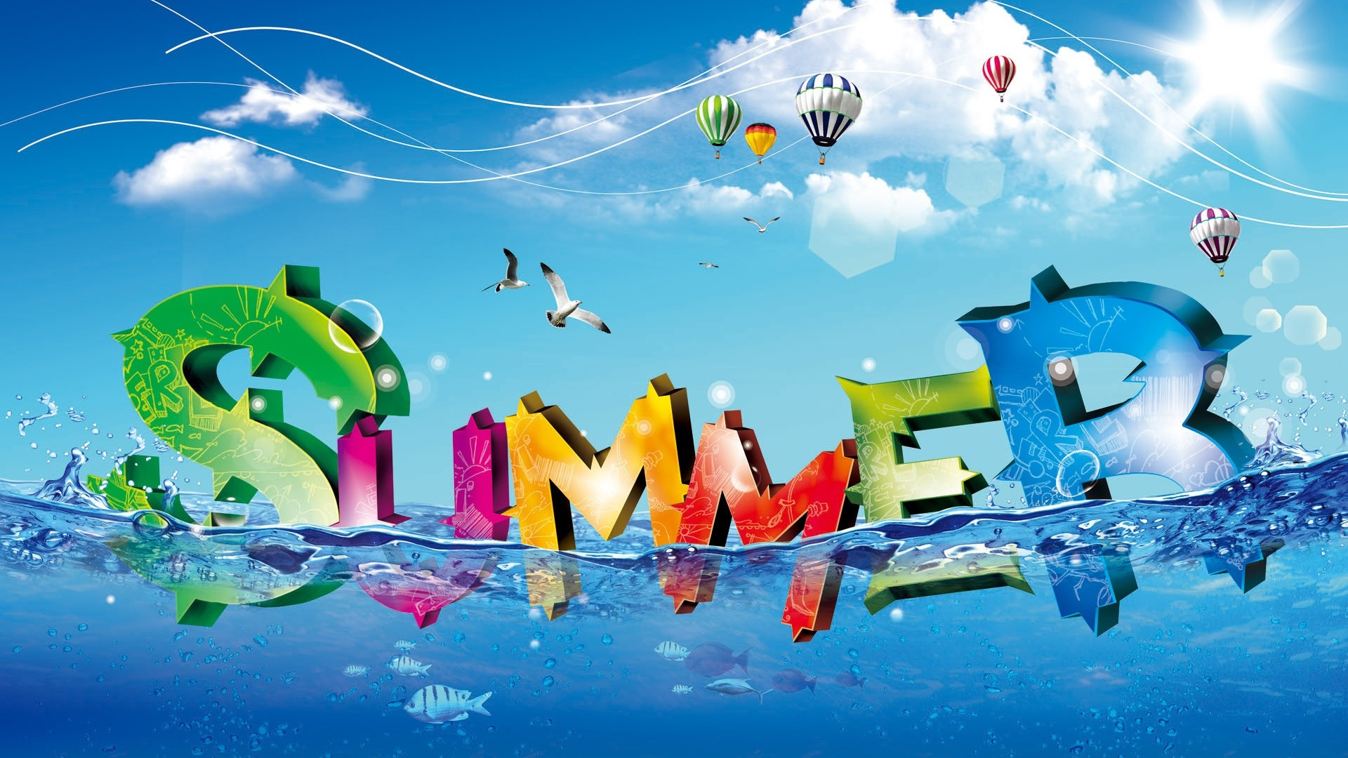 Summer computer wallpaper