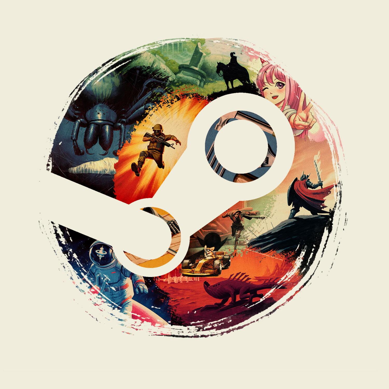 Steam Summer Sale Logo desktop background