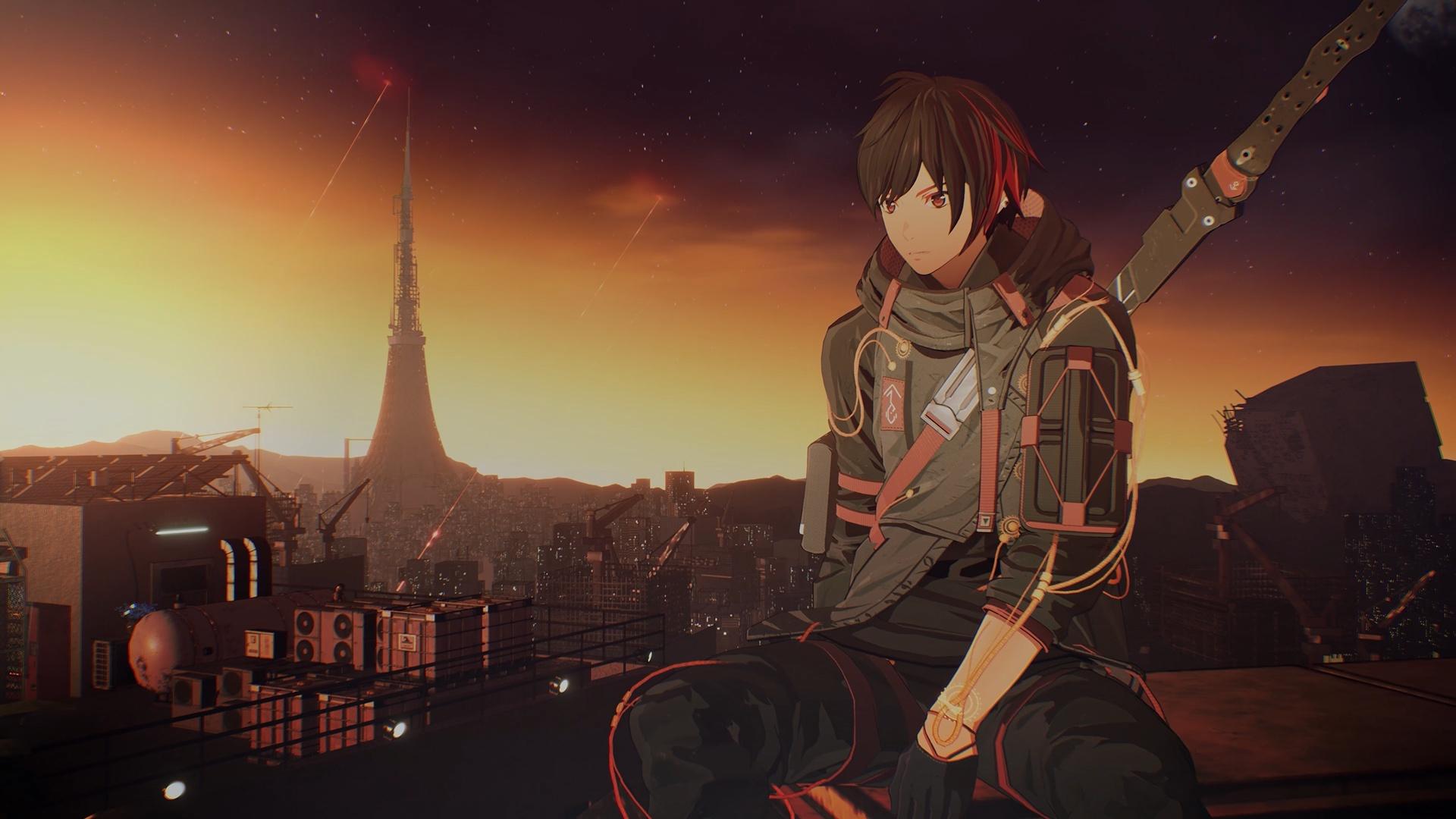 Scarlet Nexus hd background