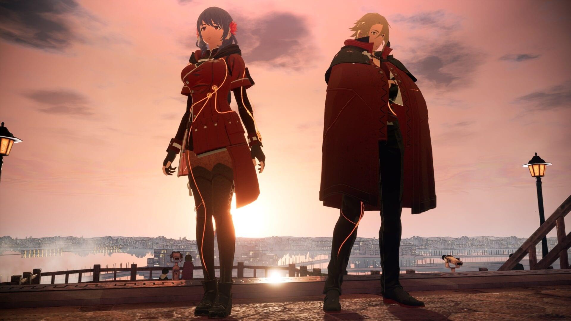 Scarlet Nexus cool background
