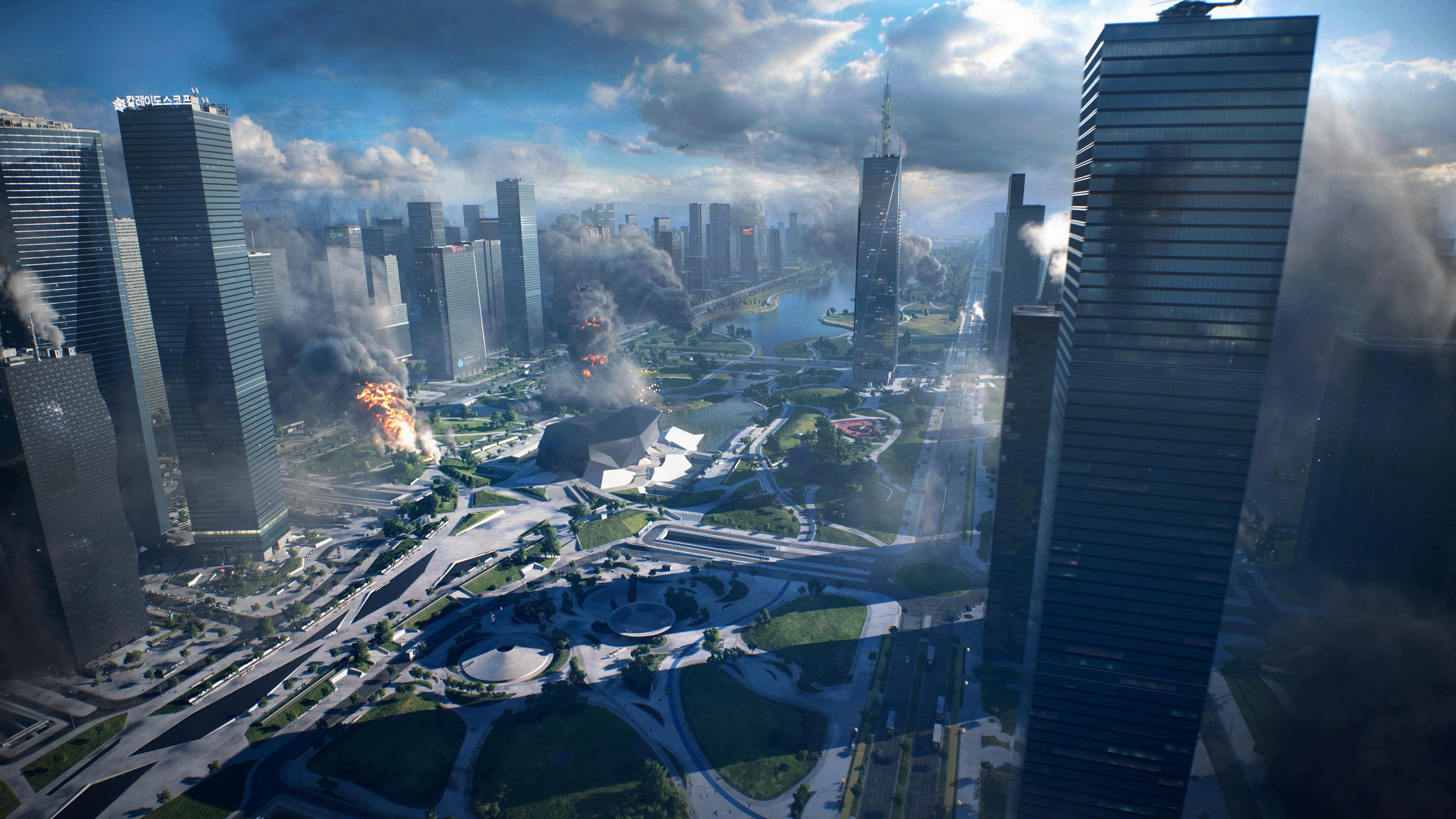 Battlefield 2042 free background