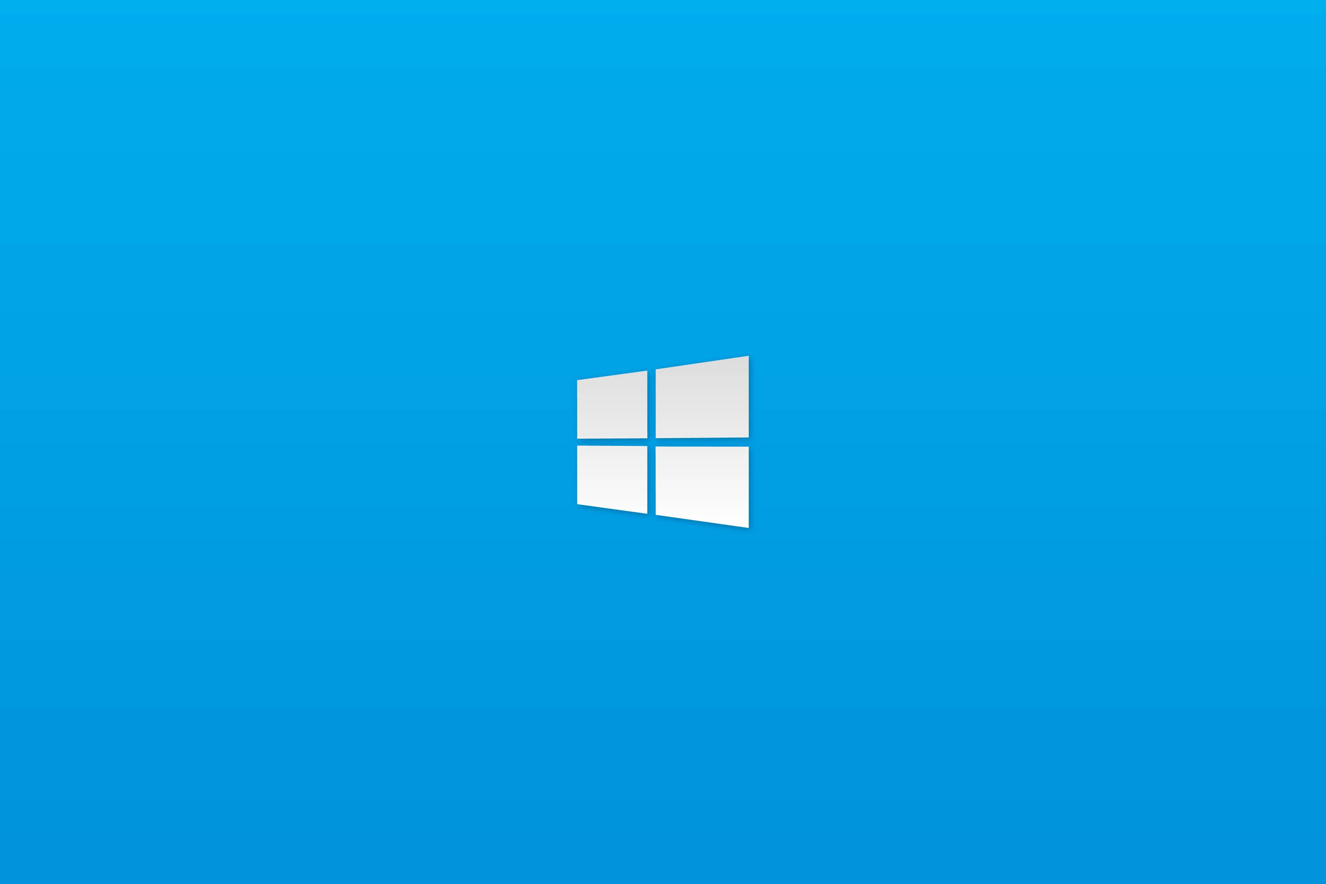 Simple Windows 10 computer wallpaper